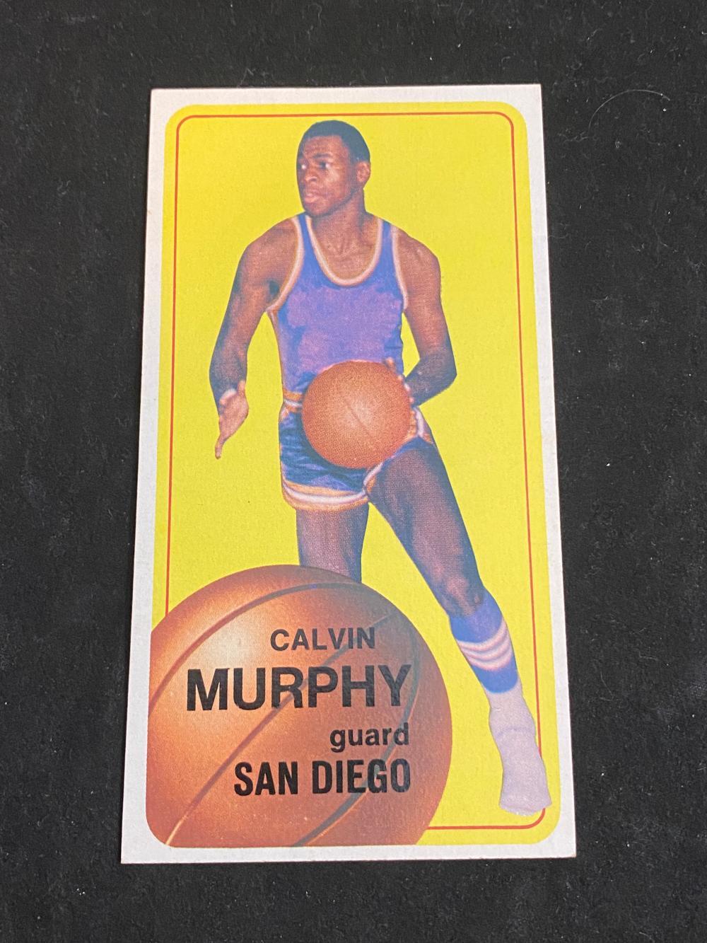 (EX-EXMT) 1970-71 Topps Basketball Calvin Murphy Rookie #137 (HOF) Football Card