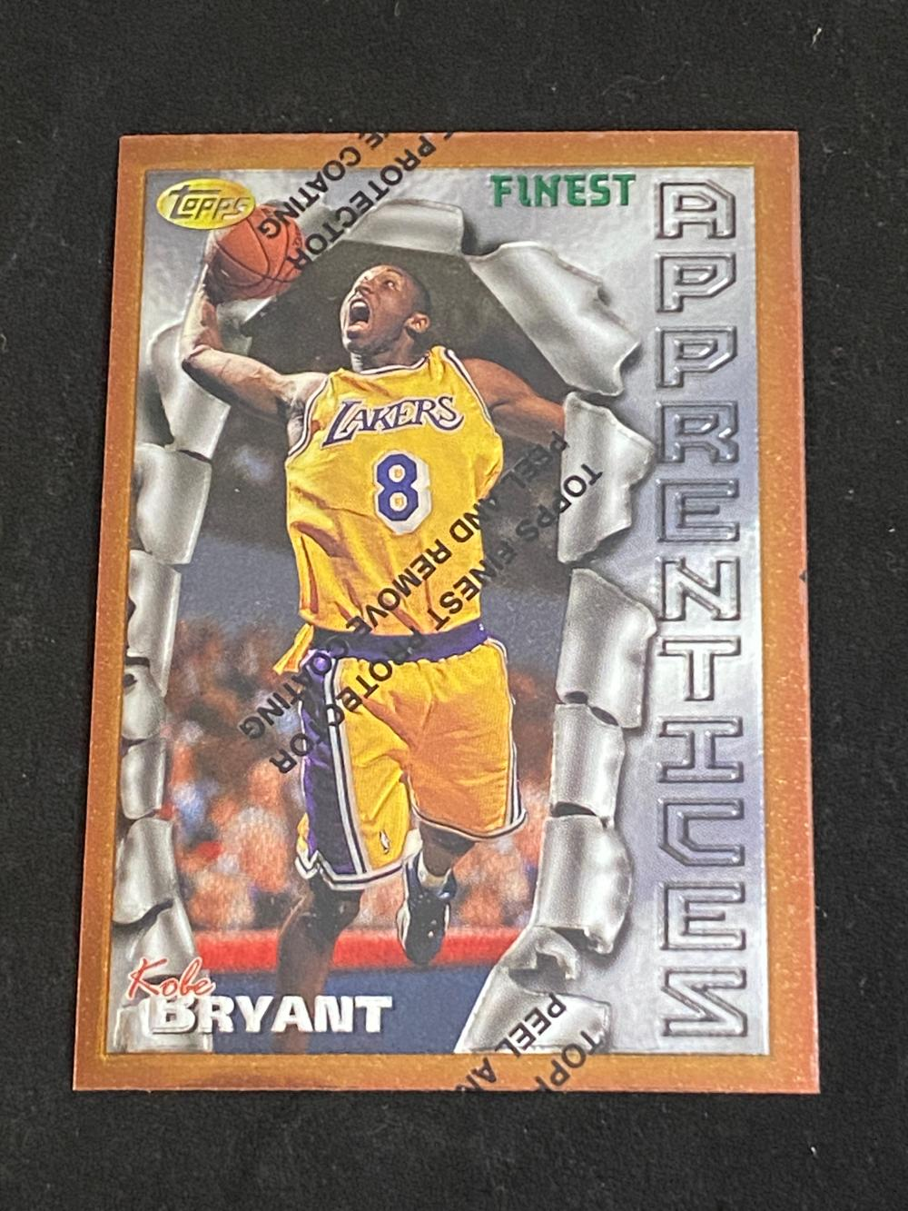 (Mint) 1996-97 Topps Finest Kobe Bryant Rookie (W/ Protective Seal) #74 Basketball Card