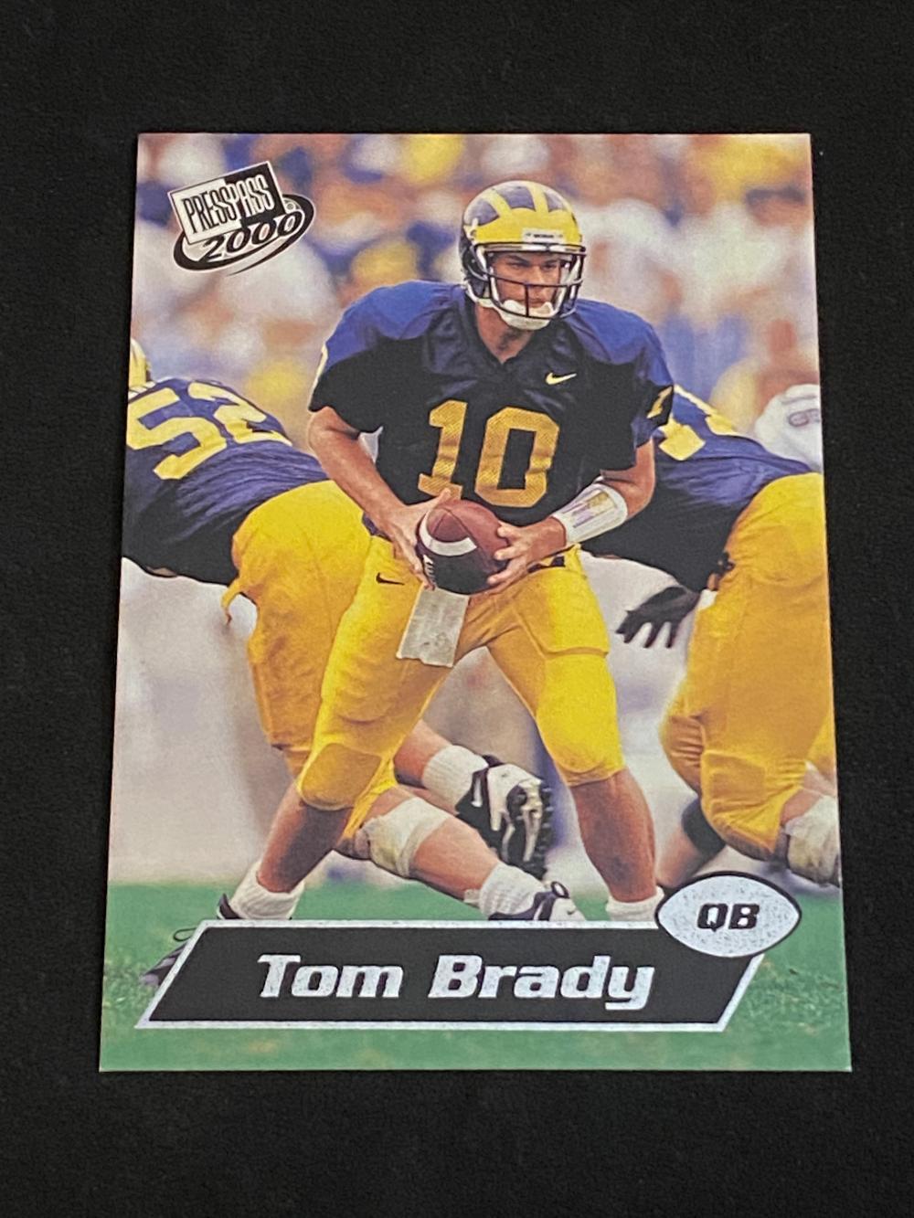 (NM-MT) 2000 Press Pass Tom Brady Rookie #37 Football Card