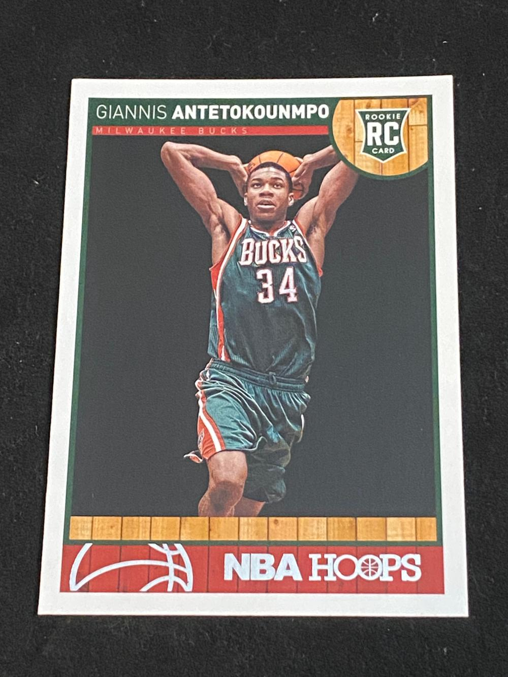 (NM-MT) 2013-14 Panini NBA Hoops Giannis Antetokounmpo Rookie #275 Basketball Card