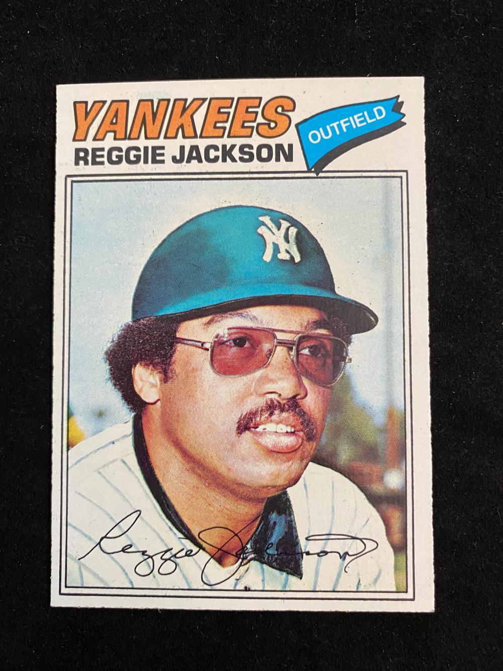 NM-MT) 1977 Topps Reggie Jackson ...