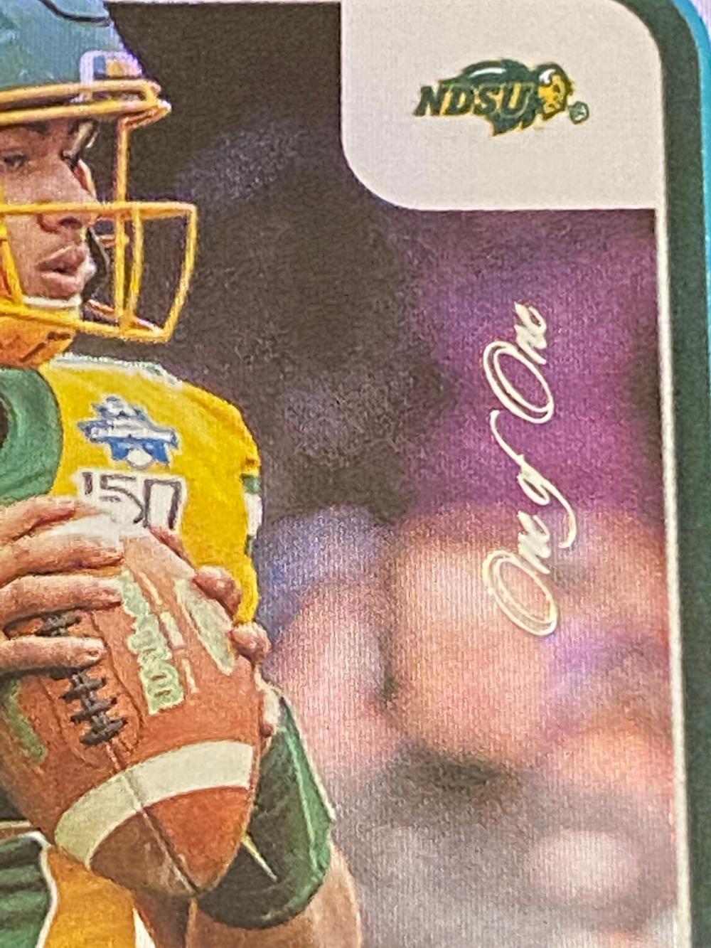 (1/1) 2021 Panini Contenders Draft Picks RC Auto Draft Ticket Trey Lance Rookie #203 Football Card - Numbered /1