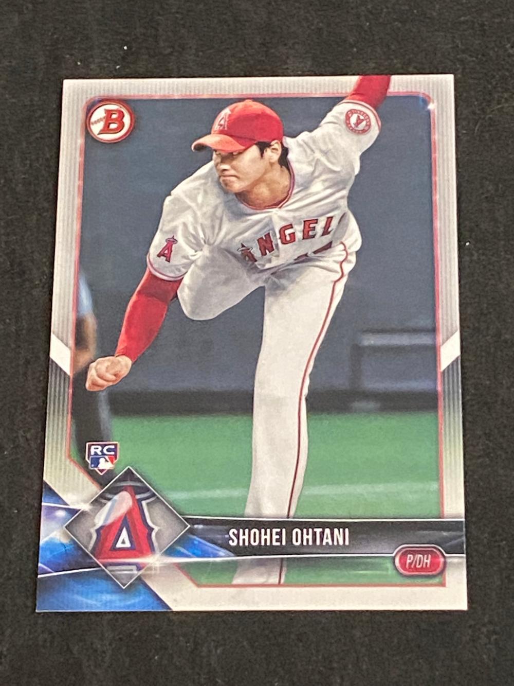 (Mint) 2018 Bowman RC Shohei Ohtani Rookie #49 Football Card