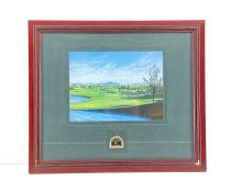 "Jim Fitzpatrick ""#18 Raven Golf Club"" Print"