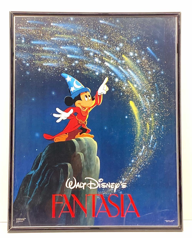Sold Price Walt Disney Fantasia Movie Poster Invalid Date Mst