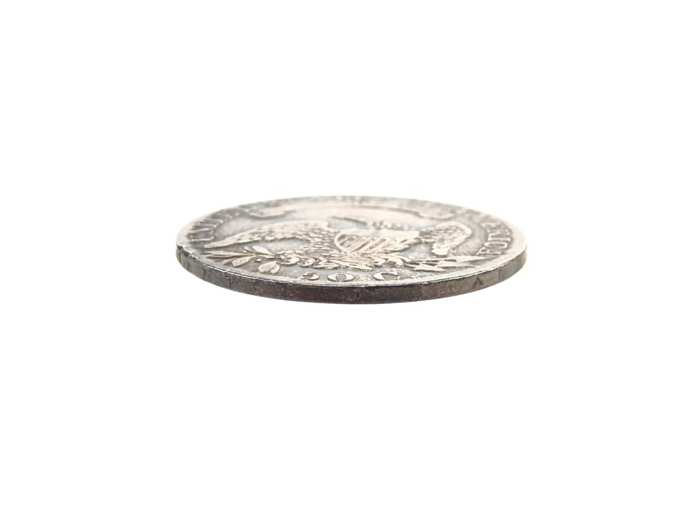 1832 CAPPED BUST LETTERED EDGE HALF SILVER DOLLAR COIN