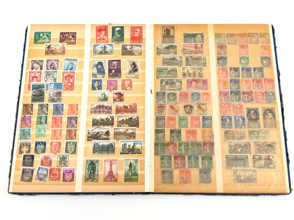 ASSORTED FOREIGN & WARTIME STAMPS COLLECTORS ALBUM