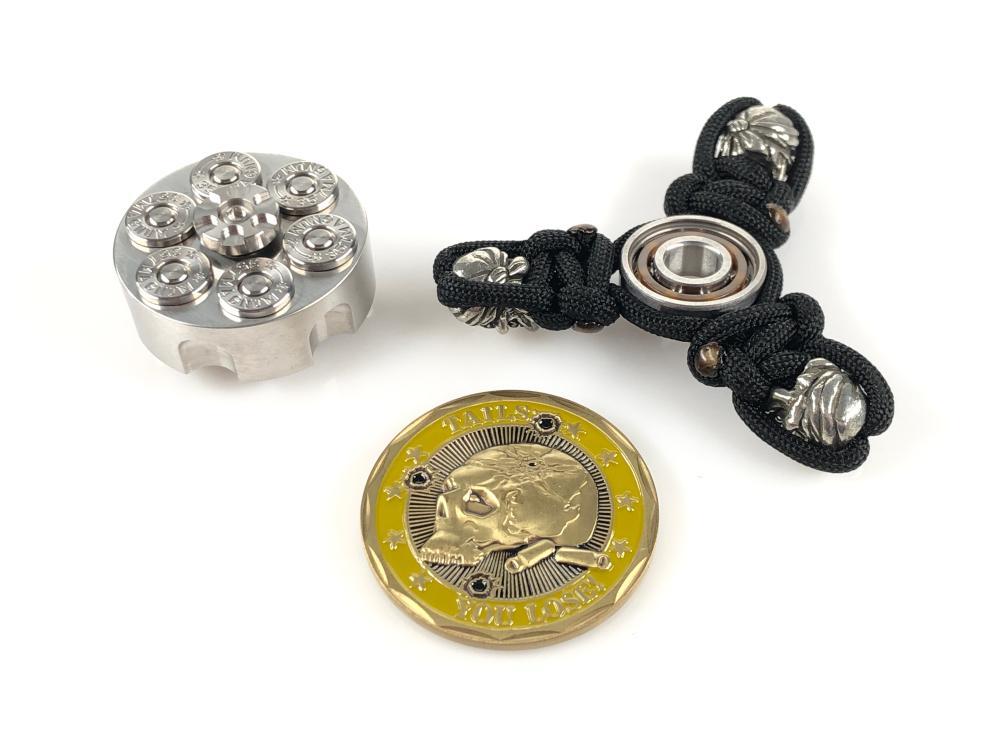 fidget coin spinner