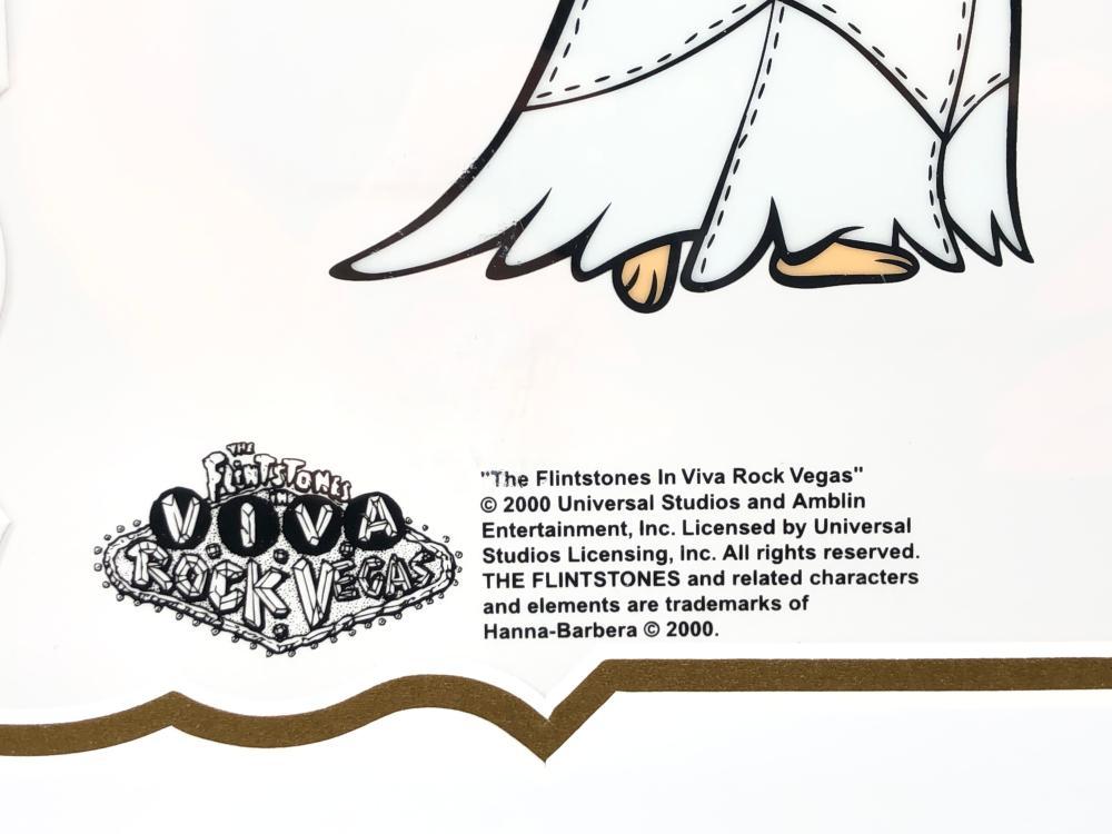 HANNA BARBERA VIVA ROCK VEGAS SERICEL LIMITED EDITION CEL