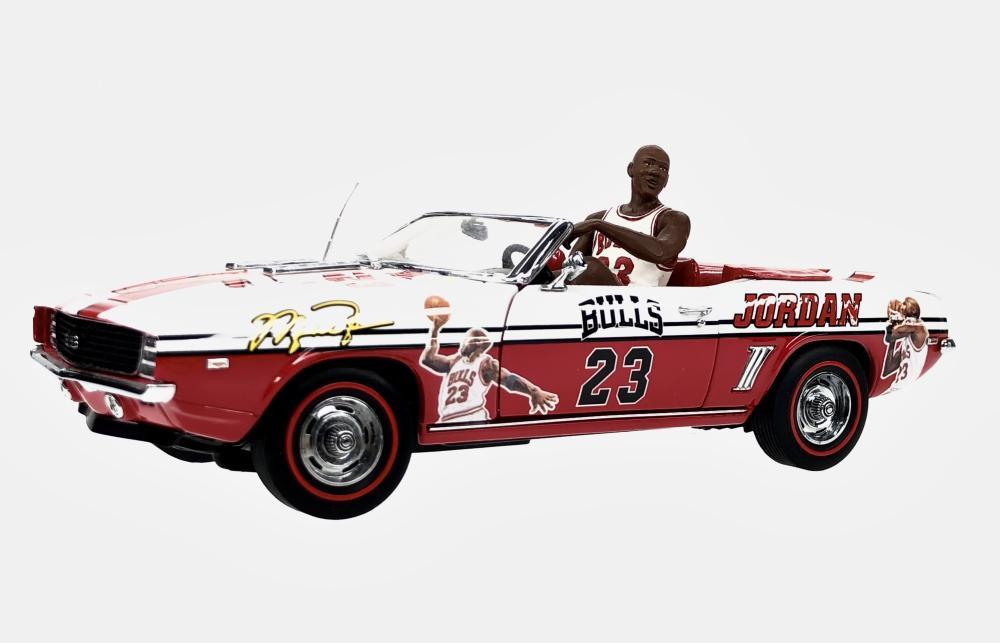 MICHAEL JORDAN 1969 CAMARO SS PARADE CAR