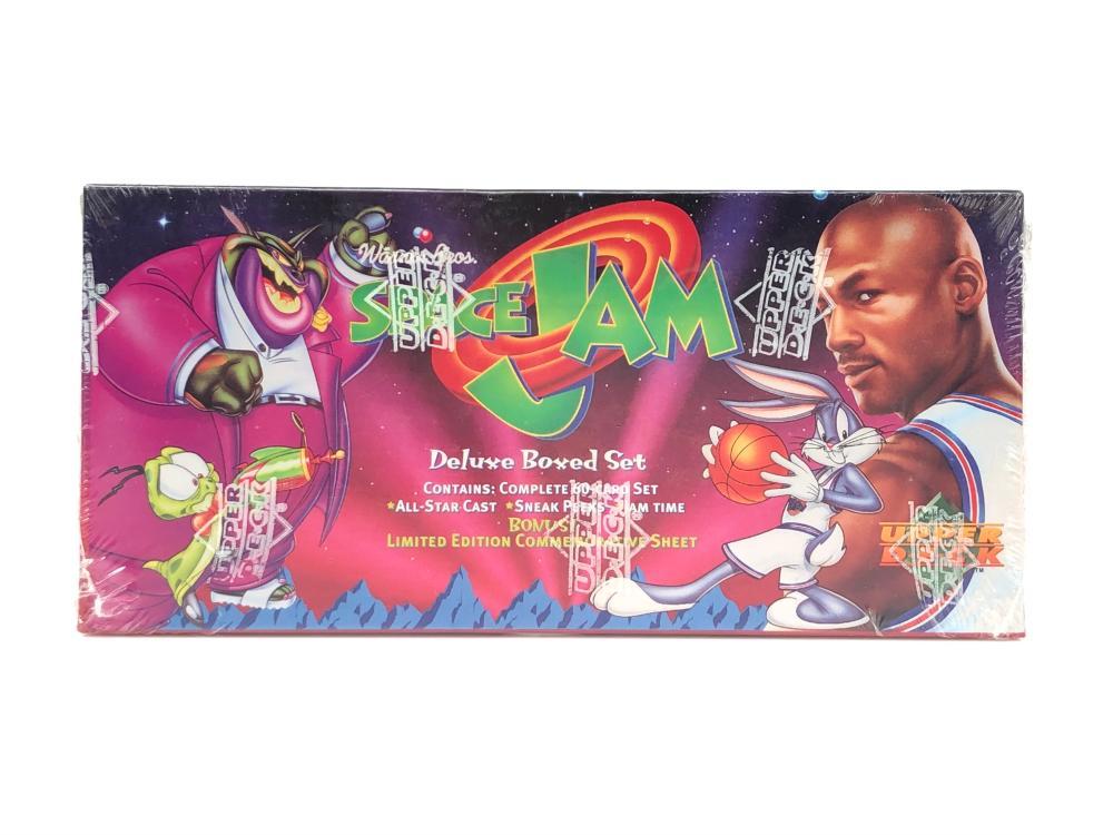 1996 UPPER DECK SPACE JAM DELUXE BOX SET