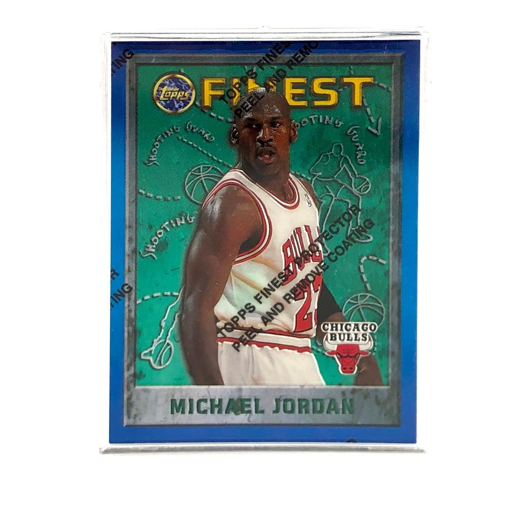4PC TOPPS UPPER DECK FLEER SPX MICHAEL JORDAN CARD