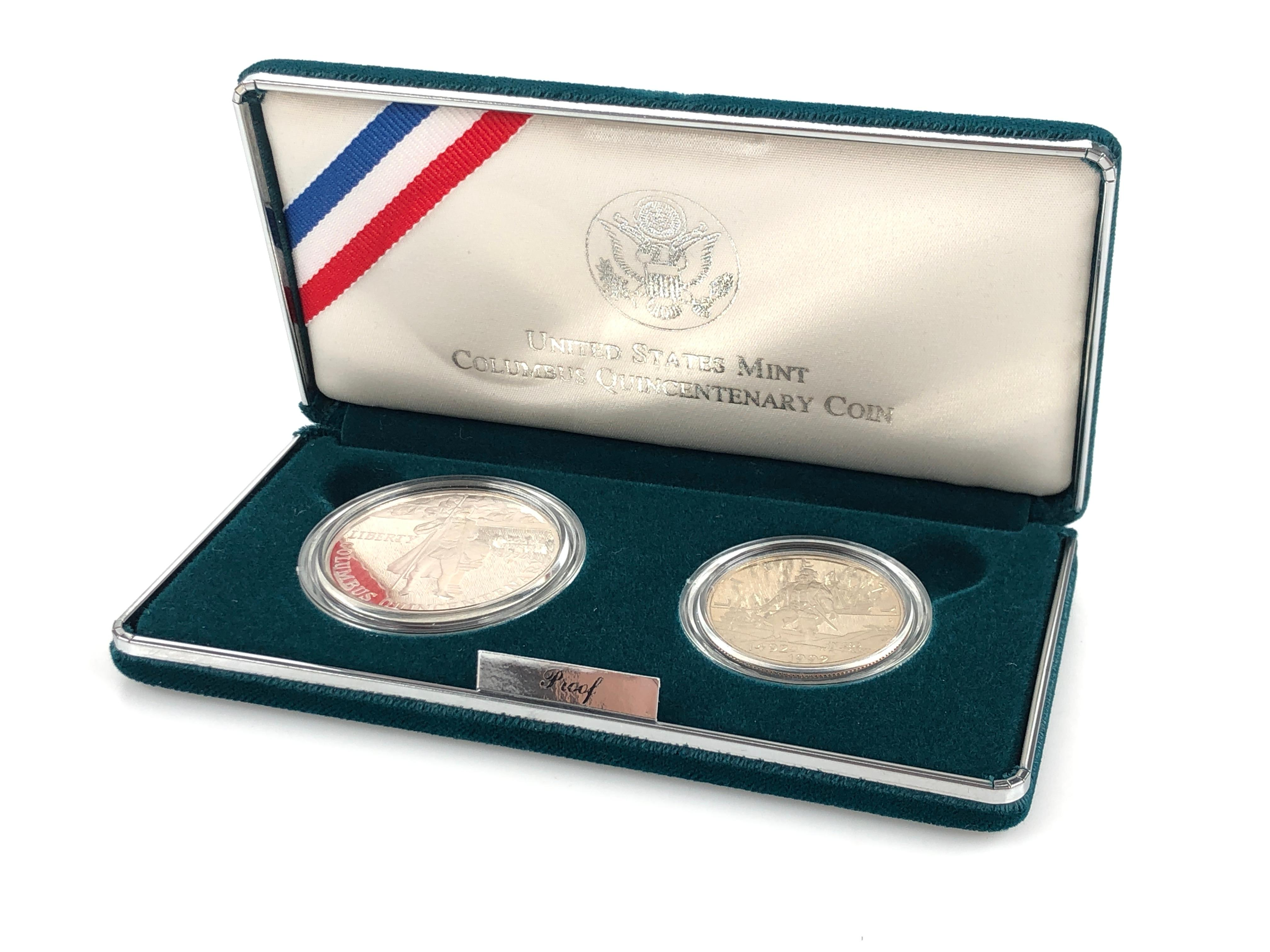 united states mint columbus quincentenary coin
