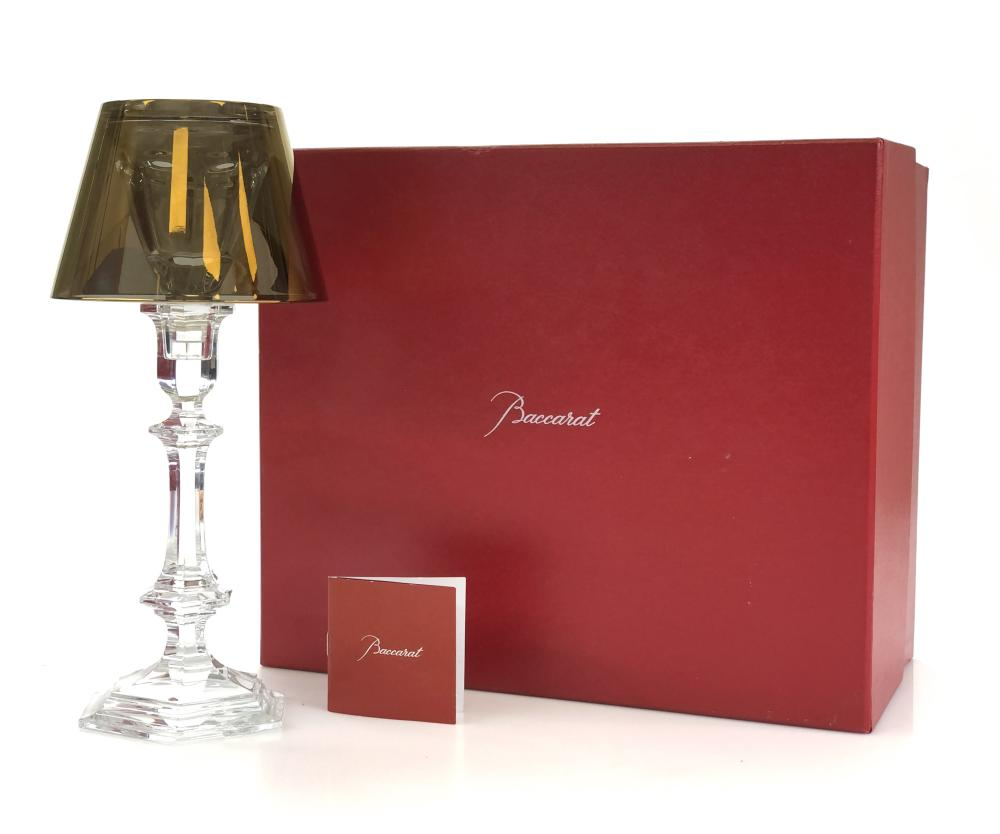 NEW BACCARAT HARCOURT OUR FIRE CANDLESTICK