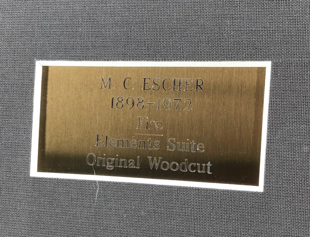 CIRC 1954 M.C. ESCHER ELEMENTS SUITE