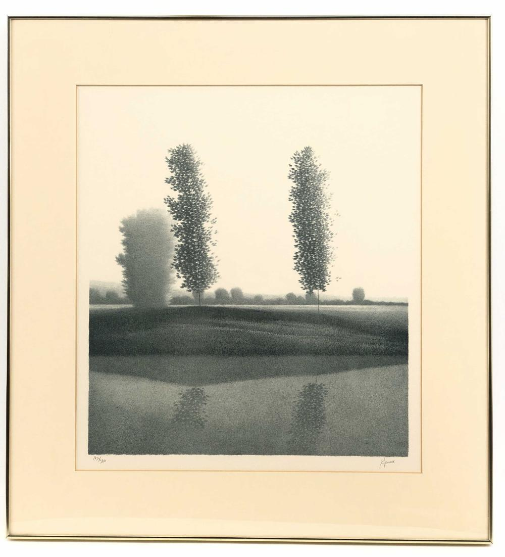 "ROBERT KIPNISS ""MORNING REFLECTION"" SIGNED LITHOGRAPH"