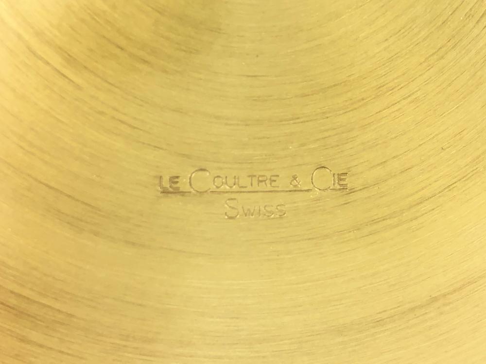 EARLY JAEGER LECOULTRE ATMOS 519 BRASS MANTEL CLOCK