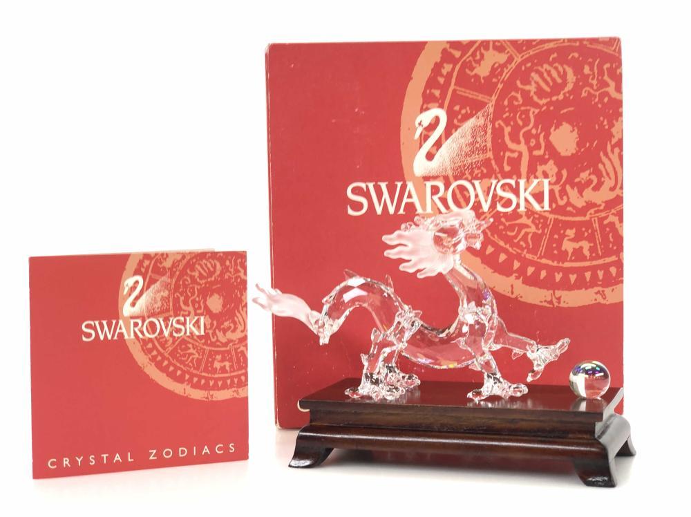 SWAROVSKI CRYSTAL ZODIAC YEAR OF THE DRAGON