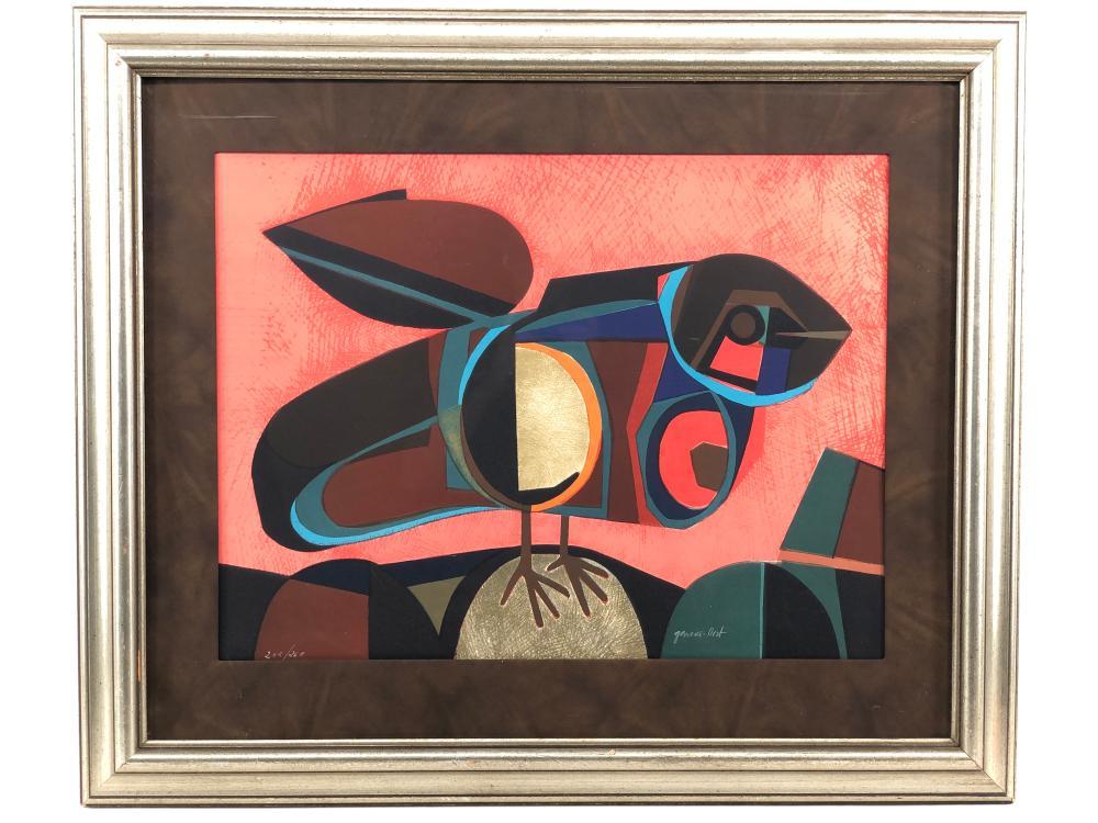 JOSEP MARIA GARCIA LLORT BIRD SERIGRAPH