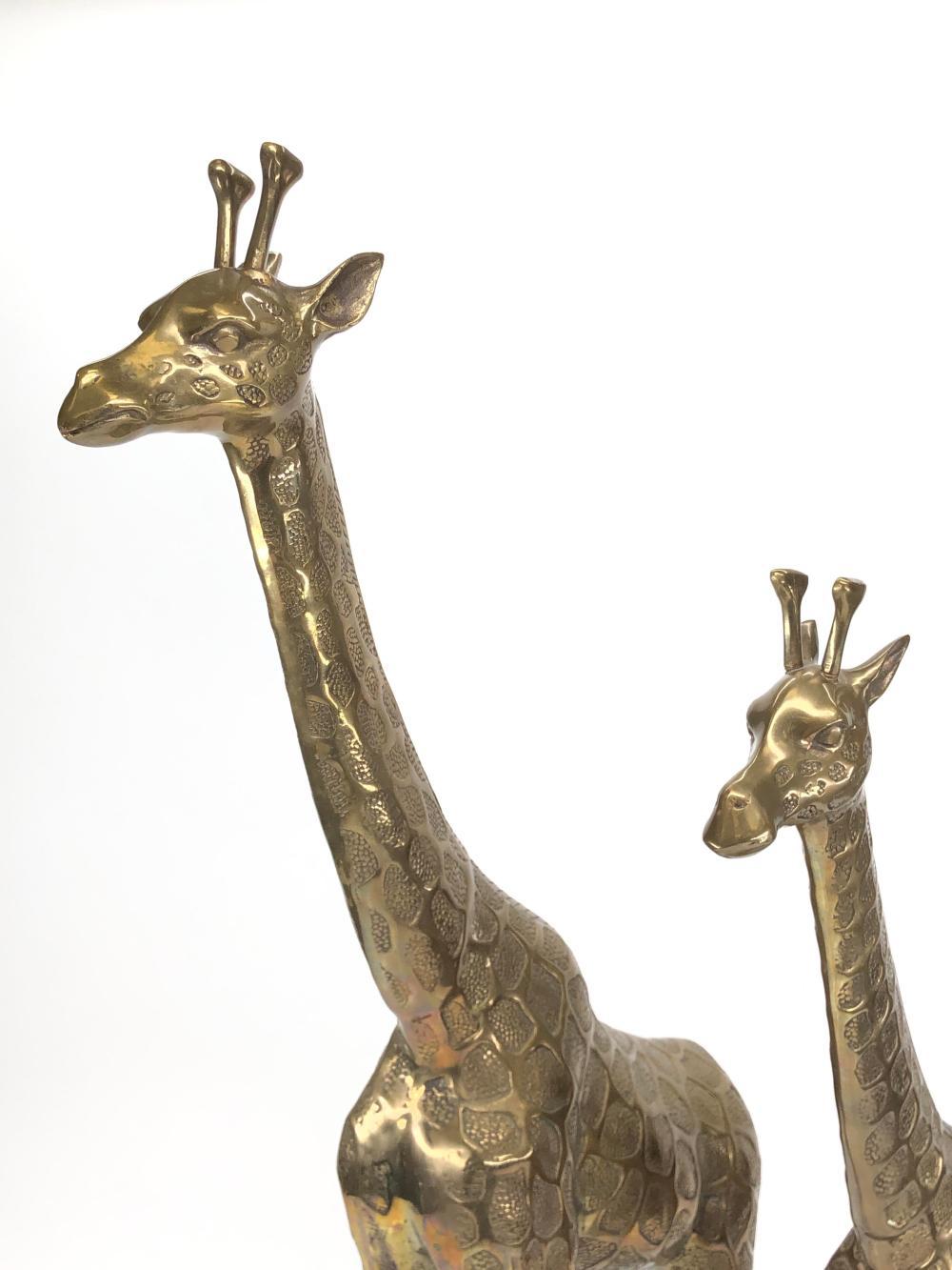 Giraffe Pulls~Vintage~Brass~Two