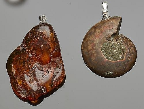 A PAIR OF PENDANTS