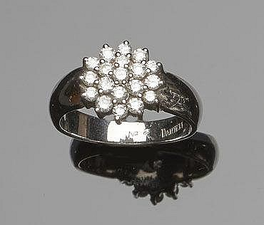 A GOLD AND DIAMOND RING, BY DANIELI