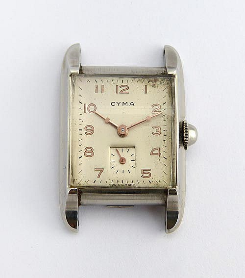 A VINTAGE LADY´S WATCH, BY CYMA