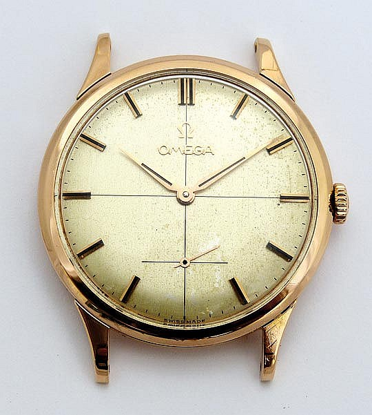 A VINTAGE WATCH, BY OMEGA