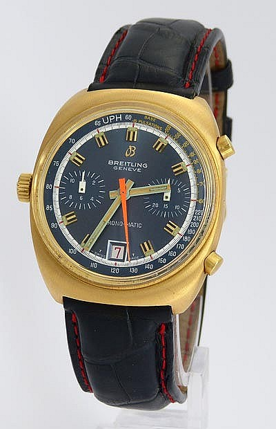 A VINTAGE WRISTWATCH, BY BREITLING