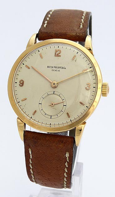 A VINTAGE WRISTWATCH, BY PATEK PHILIPPE