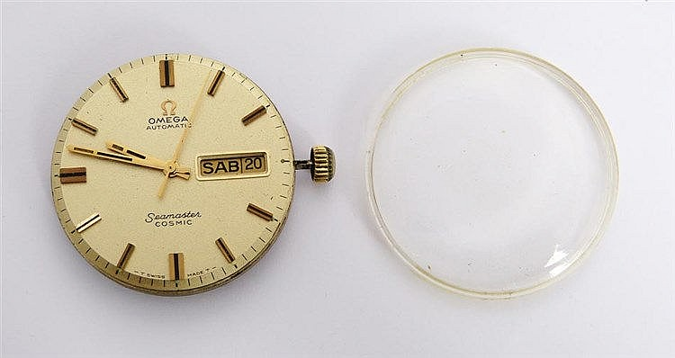 A VINTAGE OMEGA MOVEMENT