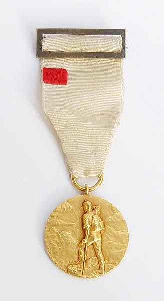 A SPANISH GOLD MEDAL