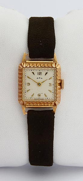 A VINTAGE LADY´S WRISTWATCH, BY REX