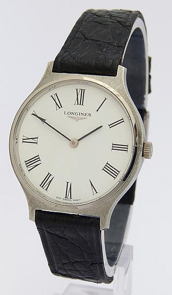 A VINTAGE WRISTWATCH, BY LONGINES