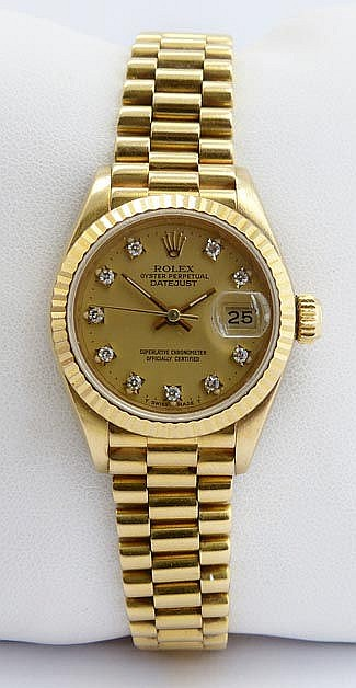 A LADY´S WRISTWATCH, BY CE ROLEX RTINA