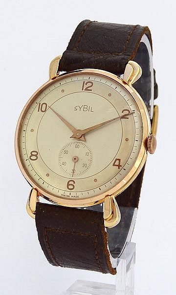 A VINTAGE WRISTWATCH, BY SYBIL
