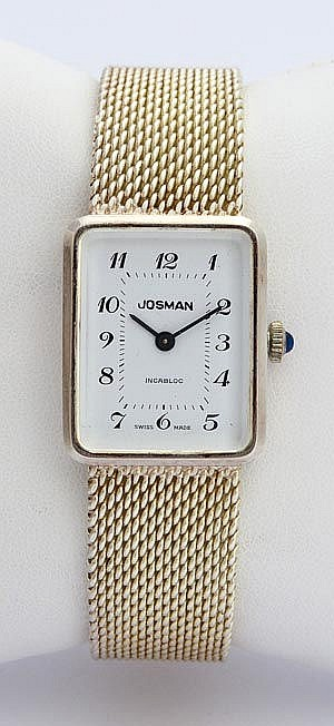 A VINTAGE LADY´S WRISTWATCH, BY JOSMAN