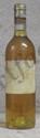 1 Bouteille  CLIMENS Etiquette tachée, fanée, millésime illisible, jupe découpée, millésime dans le bouchon.  Label stained faded, capsule cut, vintage on cork.  1988