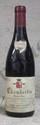 1 Bouteille CHAMBERTIN - D.  MORTET Etiquette trés légèrement tachée, collerette trés légèrement abîmée.  Label lightly stained, vintage slip slightly damaged.  1996