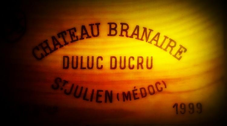 12 Bouteilles BRANAIRE DUCRU Caisse bois d'origine.  Original wood case.   1999 1999