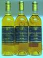 3 Bouteilles GUIRAUD 1 Étiquette abîmée, 2 légèrement griffées.  1 Label damaged, 2 slightly scratched.  1997
