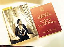 The Jewels of the Duchess of Windsor - Sotheby's - Catalogue de la vente de Genève du 2 et 3 Avril 1987 - on y joint le catalogue de vente de Lady Lydia Deterding - Christies Genève, 20 Novembre 1980