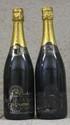 2 Bouteilles CHAMPAGNE ALFRED GRATIEN 1990 Etiquettes abîmées. Labels damaged.