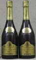 2 Bouteilles CHAMPAGNE EGLY-OURIET 100 % Grand Cru Ambonay 1995 Degorgées septembre 2000 Disgorged September 2000