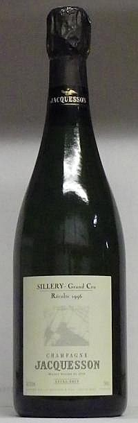 1 BOUTEILLE CHAMPAGNE JACQUESSON SILLERY EXTRA BRUT  1996