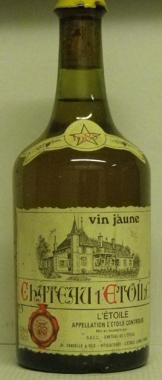 1 BOUTEILLE VIN JAUNE - CHÂTEAU DE L'ETOILE 1985