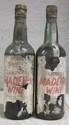 2 Bouteilles MADERE LEACOCK'S SERCIAL 1904 Etiquette tachée, abîmée, un millésime illisible. Niveaux mi-épaule et vidange. Label stained, damaged, 1 vintage unreadable. Levels mid and very low shoulder.