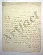 Thomas CLARKSON (1760-1846) abolitionniste anglais quaker ; il fut proclamé citoyen français en 1792 par l'Assemblée nationale législative. L.A.S., Paris 11 septembre 1814, [au comte de LALLY-TOLENDAL] ; 1 page in-4 ; en anglais.