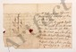 Claudine Guérin de TENCIN (1682-1749) femme de lettres, animatrice d'un salon littéraire influent. 2 L.A., [été 1734], à MONTESQUIEU à Paris ; 1 page in-8 et 3 pages petit in-4, adresses avec cachets cire rouge aux armes (brisés, lég. mouill. à la 2e