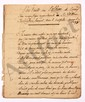 Trophime-Gérard de LALLY-TOLENDAL. 30 MANUSCRITS autographes, 1768-1826 ; environ 100 pages formats divers.